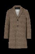 Frakke Check Coat