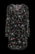 Kjole vmBecca LS Short V-Neck Dress