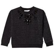 Molo Maila Sweatshirt Black 110 cm (4-5 år)