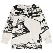 Molo Madsim Sweatshirt Snowboarders Outline 92 cm (1,5-2 år)