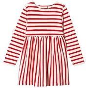 Molo Carisma Dress Chili Pearl Stripe 146/152 cm