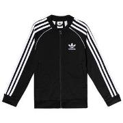adidas Originals Black Branded Track Jacket 7-8 years (128 cm)