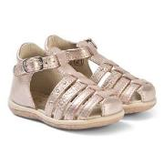 Noël Mini Lady Sandals Rose Gold 21 (UK 4.5)