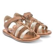 Noël Sydni Leather Sandals Nut Multi 25 (UK 8)