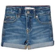 Tommy Hilfiger Blue Light Washed Nora Denim Shorts 4 years
