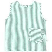 Molo Shirts SS Rosalle Green Stripe 158/164 cm