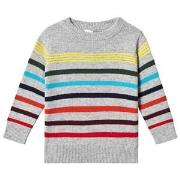 GAP Multi Stripe Crewneck Pullover 5 år